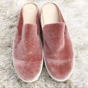 17429213b1cfc bp Shoes - BP Monika Platform Mules velvet blush Nordstrom